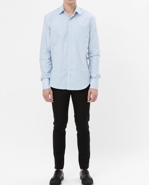 BASIC OXFORD SHIRT (STRIPE)