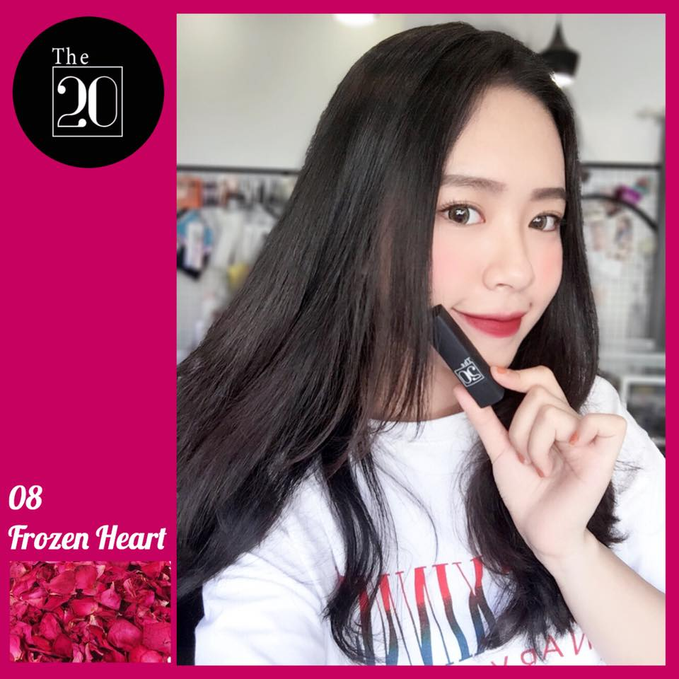 08 Frozen Heart - The 20 Velvet Matte Lipstick