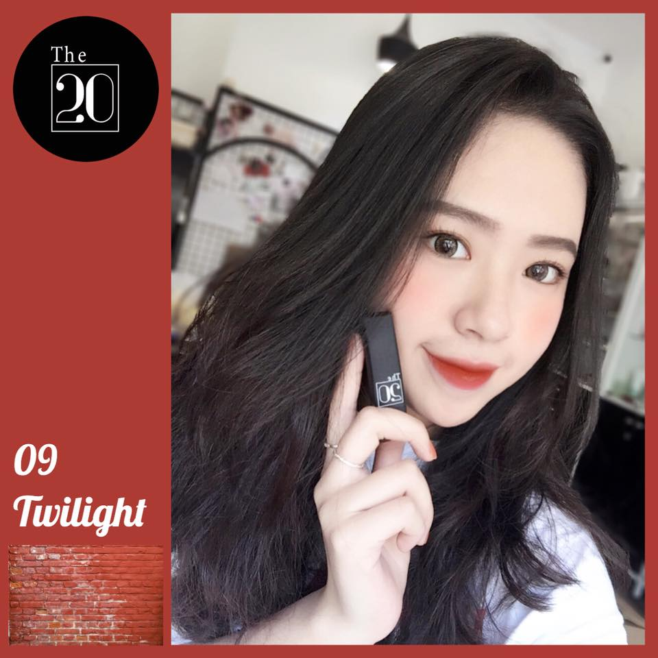 09 Twilight - The 20 Velvet Matte Lipstick