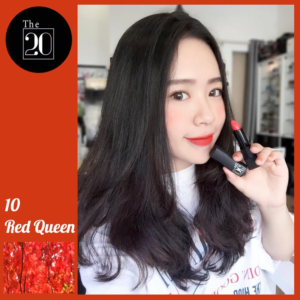 10 Red Queen - The 20 Velvet Matte Lipstick