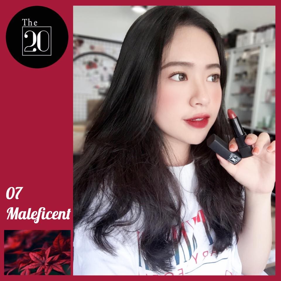 07 Maleficent - The 20 Velvet Matte Lipstick