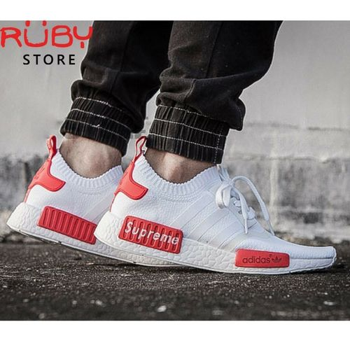 online retailer 0beda c8389 Giày Adidas NMD R1 Supreme Trắng