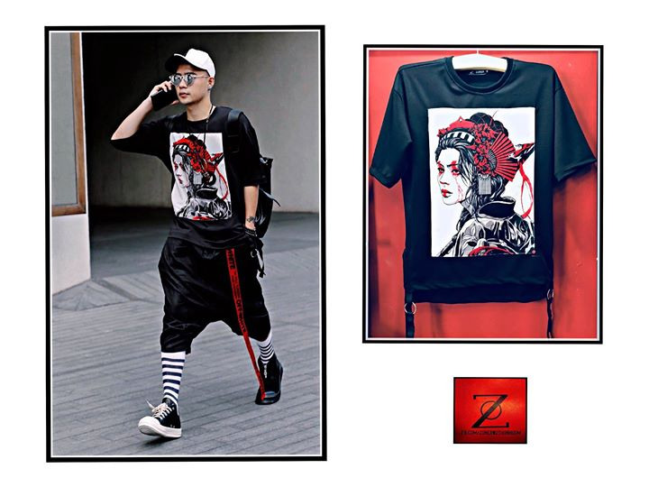 T-shirt Cry Geisha