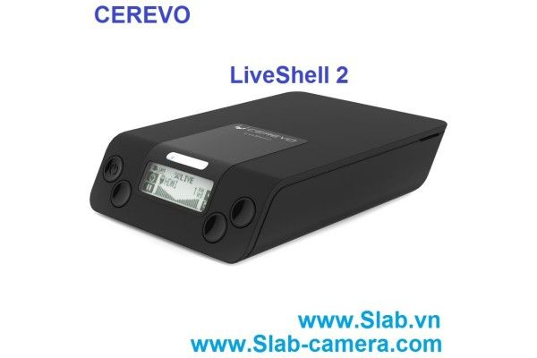 Cerevo LiveShell 2 Wireless Video Streaming