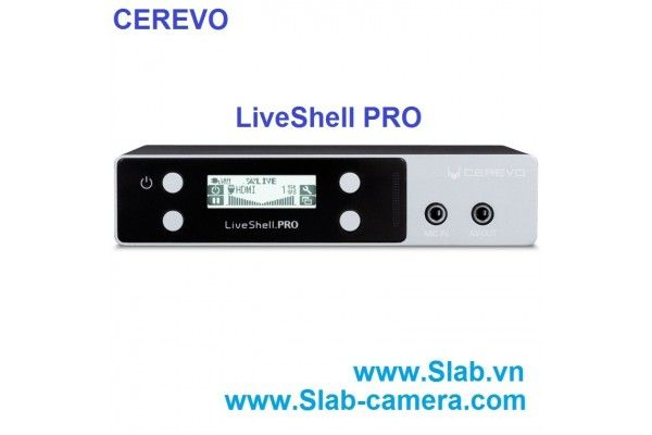 Cerevo Livestream LiveShell PRO HD Wireless Video