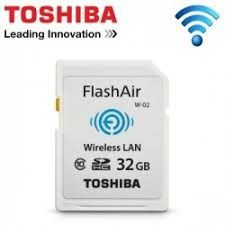FlashAir™ - SD Card 32GB