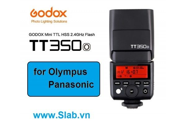 GODOX Mini Camera Flash TT350 Olympus