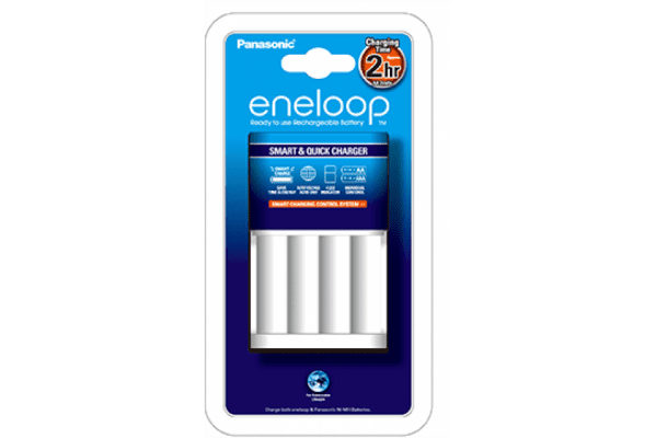 Panasonic Eneloop BQ-CC16 4-Battery Fast Charger