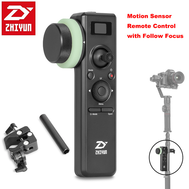 ZHIYUN CRANE MOTION SENSOR REMOTE CONTROL WITH FOLLOW FOCUS
