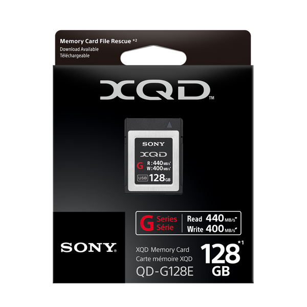 Sony XQD 128Gb 400Mb/s