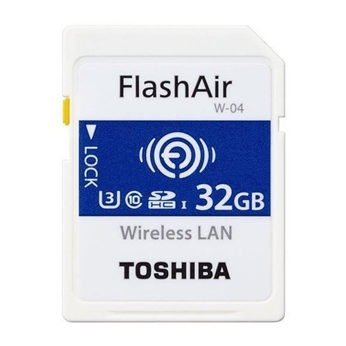 Toshiba SD Wifi FlashAir™ W-04 U3 32Gb