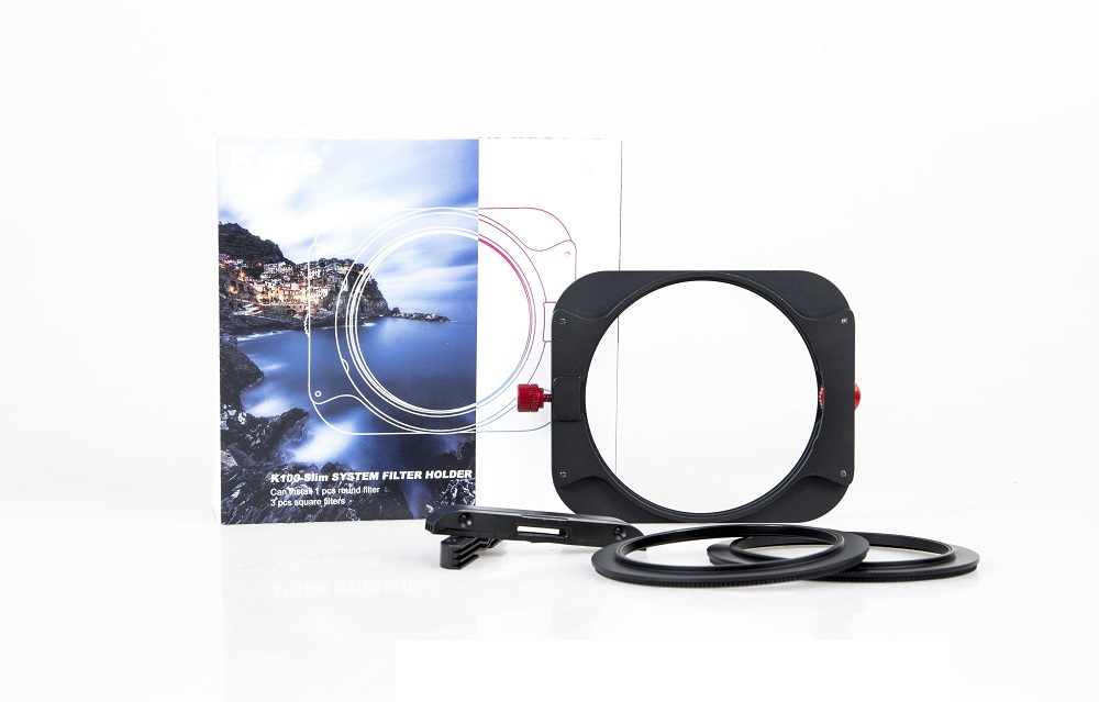 Kase K8 Kit - 100mm Holder + Polarising Filter