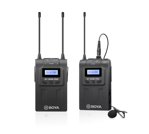 BOYA BY-WM8 WIRELESS UHF PRO-K1