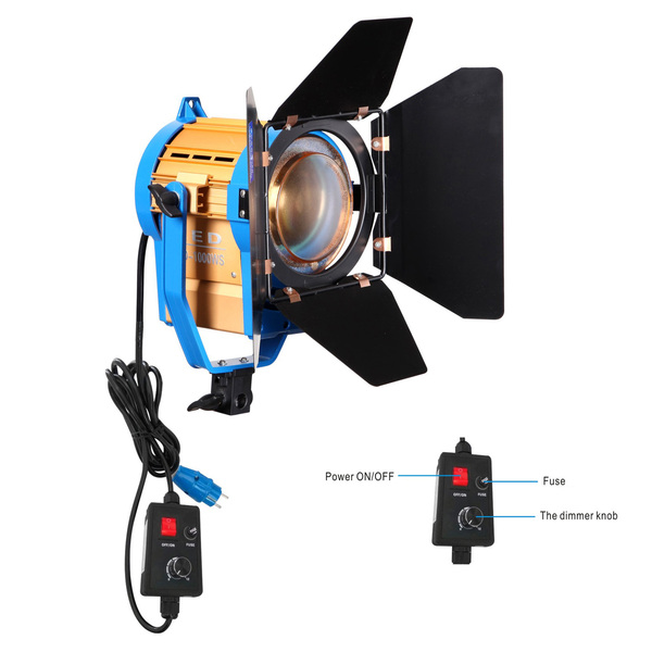 NiceFoto LED fresnel light CD1000W 5500K