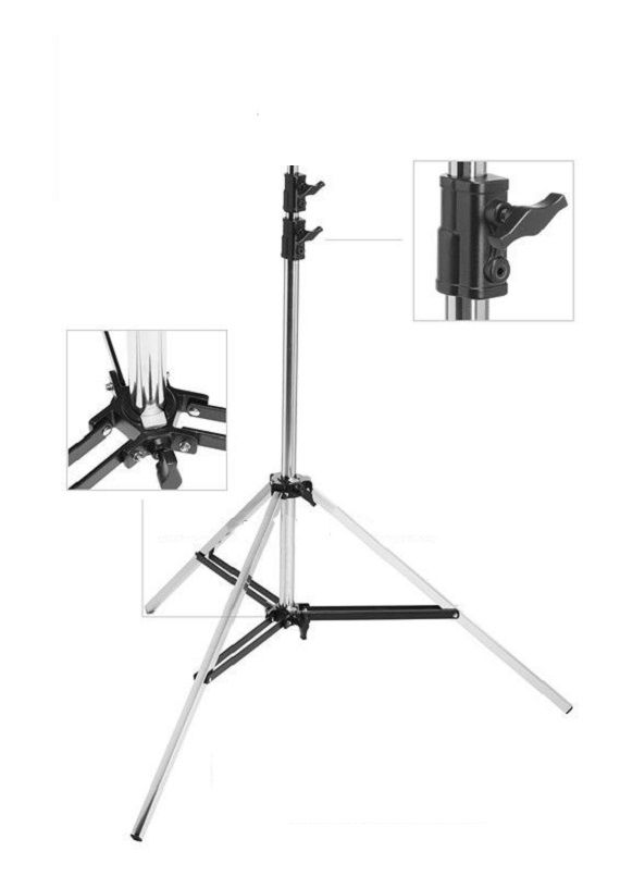 Light Stand Inox 280 Cm