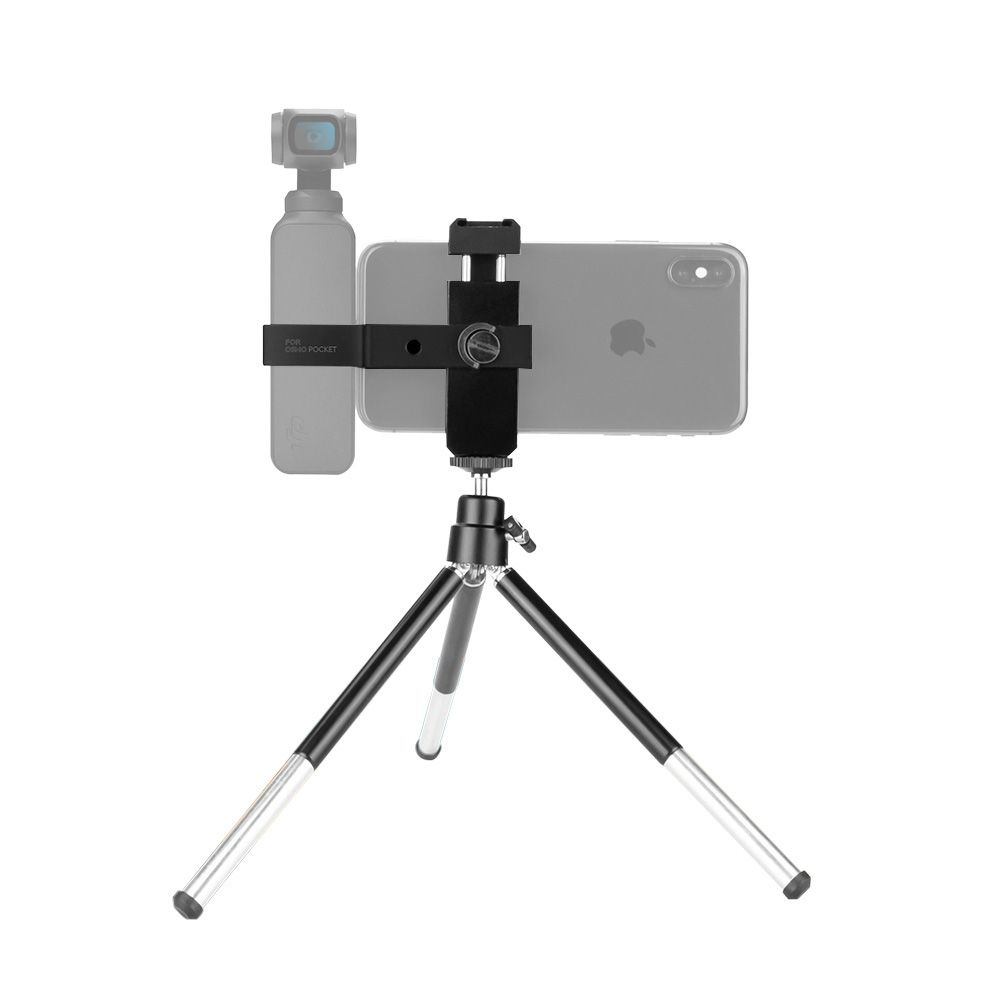 Tripod mini + đầu ball gắn DJI Osmo Pocket