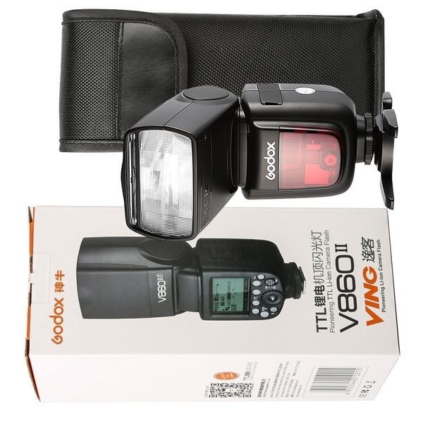 Flash Godox V860 II TTL for Ca/Ni/S