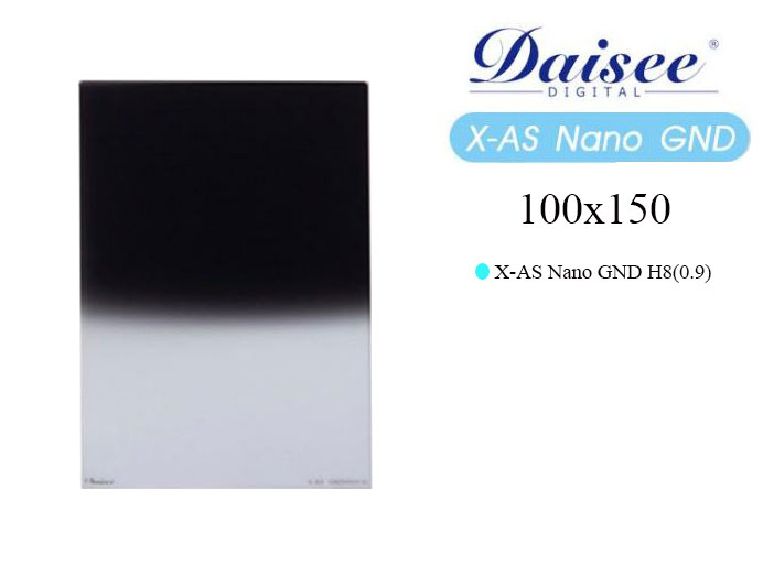Filter Daisee 100x150 X-AS Nano GND H8 (0.9)