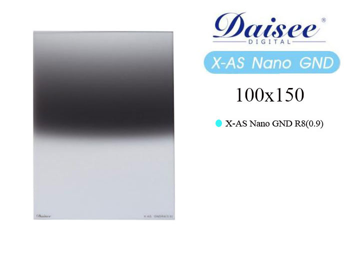 Filter Daisee 100x150 X-AS Nano GND R8 (0.9)