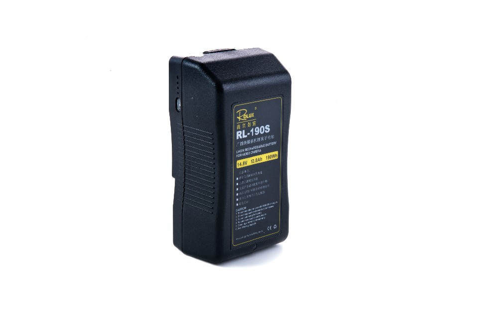 Rolux RL-190S 190Wh Li-ion Rechargeabl battery Sony V-Mount