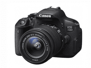 CANON 700D Kit 18-55mm IS II