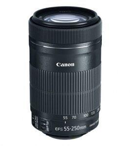 Lens Canon EF-S 55-250mm F4-5.6 IS STM | (Like New 99,9%)