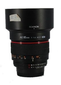 Lens Rokinon AE 85mm F1.4 AS IF UMC for Nikon | (Like New 99,9%)