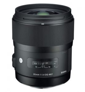 Lens Sigma 35mm F1.4 DG HSM | (Like New 99,9%)