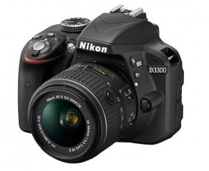 Nikon D3300 (AF-S DX Nikkor 18-55mm F3.5-5.6G VR II) Lens Kit | (Like New 99,9%)