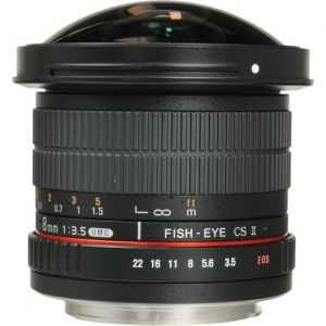 Samyang 8mm F3.5 II Fish-eye for Nikon | (Like New 99,9%)