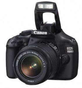 Canon EOS 1100D (Kiss X50 / Rebel T3 ) (EF-S 18-55mm F3.5-5.6 IS II) Lens Kit