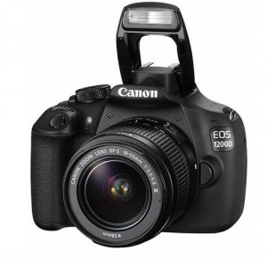 Canon EOS 1200D (Rebel T5) (EF-S 18-55mm F3.5-5.6 IS II) Lens Kit