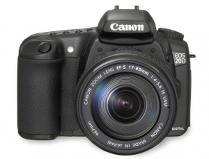 Canon EOS 20D (EF-S 17-85mm F4-5.6 IS UMS) Lens kit