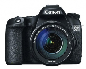 Canon EOS 70D (EF-S 18-135mm F3.5-5.6 IS STM) Lens Kit