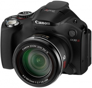 Canon PowerShot SX30 IS - Mỹ / Canada