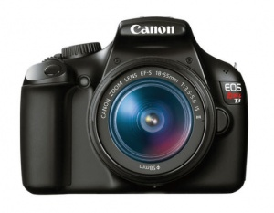Canon Rebel T3 (Kiss X50 / EOS 1100D) (EF-S 18-55mm F3.5-5.6 IS II) Lens Kit