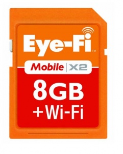 Eye-Fi Mobile X2 8GB Wi-Fi