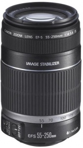 Lens Canon EF-S 55-250mm F4-5.6 IS