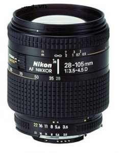 Lens Nikon Angle-Telephoto AF Zoom 28-105mm F3.5-4.5 D IF