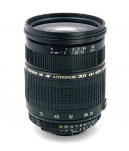 Lens Tamron SP AF 28-75mm F2.8 XR Di LD Aspherical[IF] MACRO(Model A09) (Canon use)