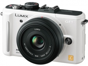 Panasonic LUMIX DMC-GF1C (LUMIX G 20mm F1.7 ASPH. H-H020) Pancake lens kit