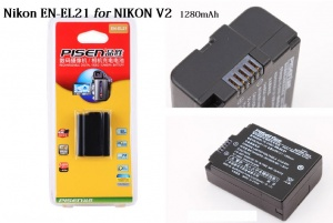 Pin Pisen EN-EL 21 for Nikon