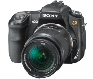 Sony Alpha DSLR-A200K 18-70mm Zoom Lens