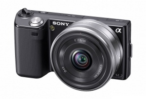 Sony Alpha NEX-3 (18mm-55mm F22-F34) Lens kit