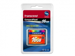 Transcend CF 16GB (133x Speed)
