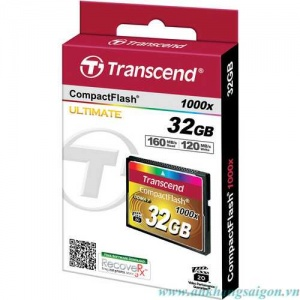 Transcend CF 32GB (1000x Speed)