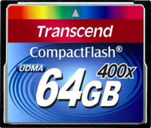 Transcend CF 64GB (400x Speed)