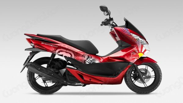 DECAL HONDA PCX 049
