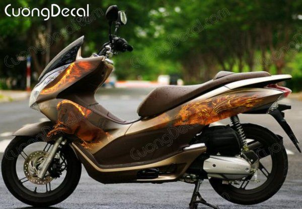 DECAL HONDA PCX 054