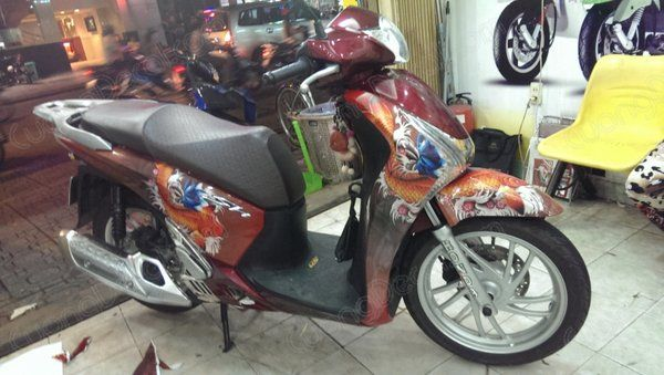 DECAL HONDA SH 163
